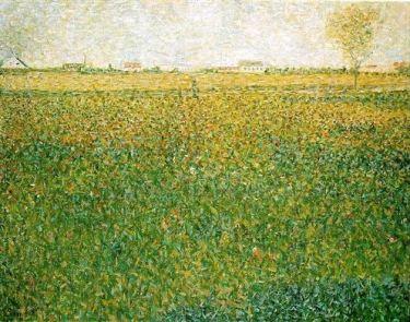 Georges Seurat, La Lucerne, Saint-Denis, 1885