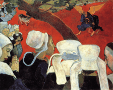 Paul Gauguin, The Vision after the Sermon, 1888