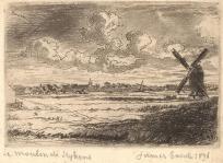 James Ensor, Le Moulin de Seykens, 1891