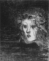 Jeanne Jacquemin, It was this princess of the swamps.., 1894, lithograph.