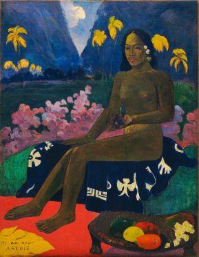 Paul Gauguin, Te aa no areois (The Seed of the Areoi), 1892