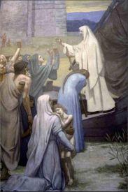 Puvis De Chavannes St. Genevieve Bringing Supplies to the City of Paris after the Siege