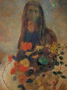 Odilon Redon, Mystery, 1910