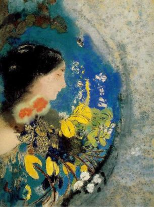 Odilon Redon, Ophelia among the Flowers, c 1905 08