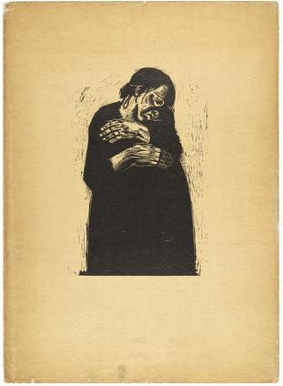 Käthe Kollwitz, War, 1923