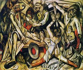 Max Beckman, The Night, 1918-19