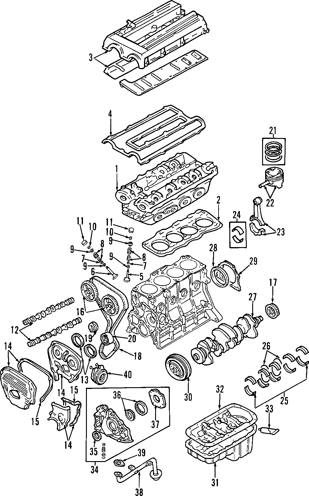 Kia Sportage Crankshaft Gear Engine Timing
