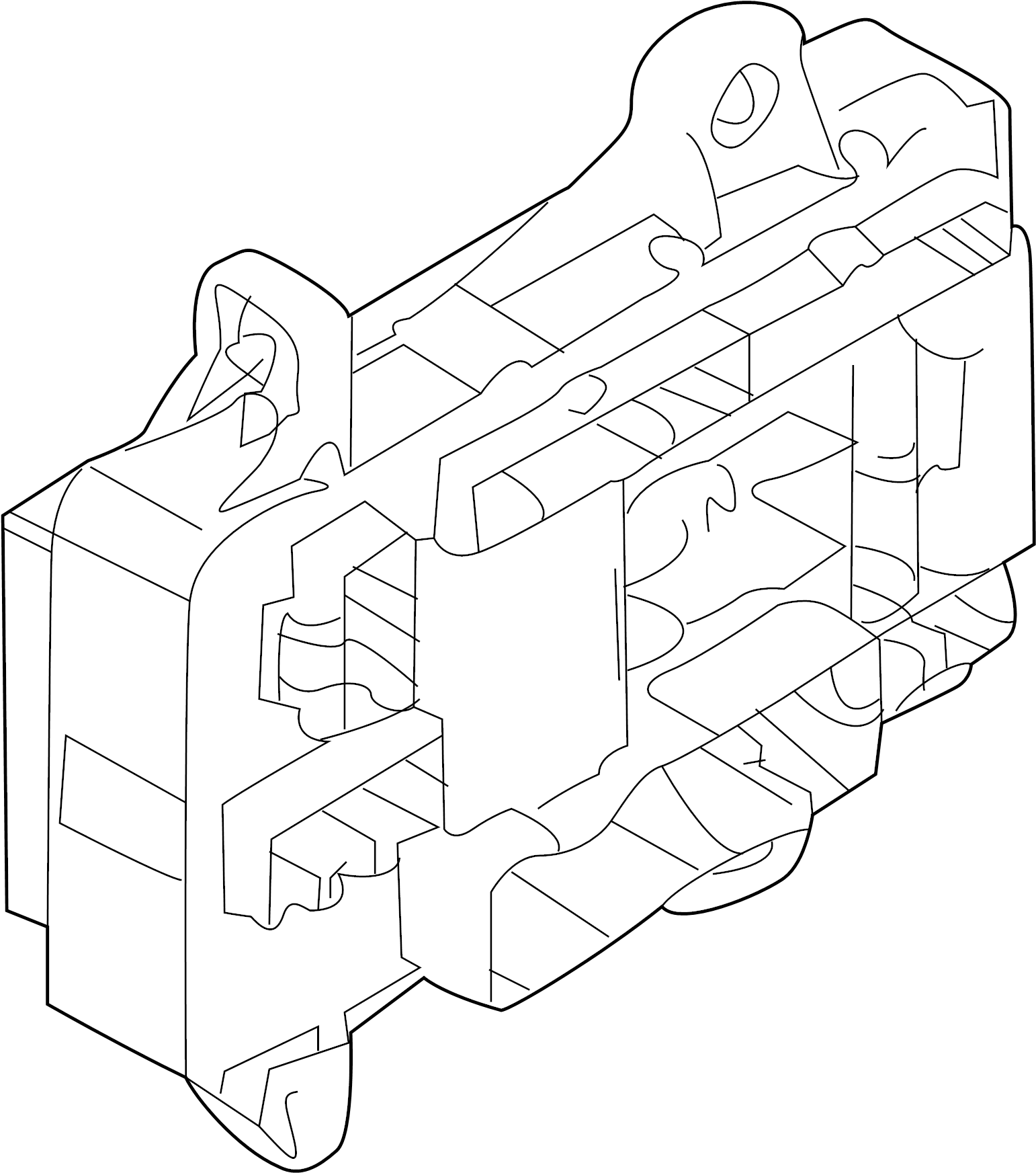 Kia Forte Box Assembly