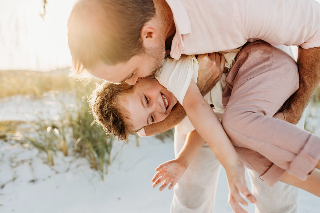 family photography and videography session in Destin, Florida