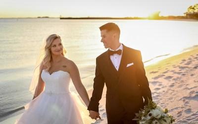 Jenissa + Gavin's  NAS Pensacola Wedding