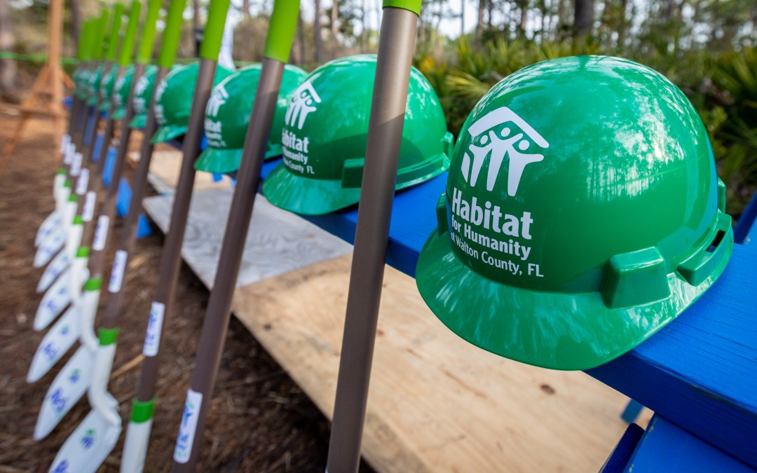 habitat for humanity restore capital campaign and groundbreaking event