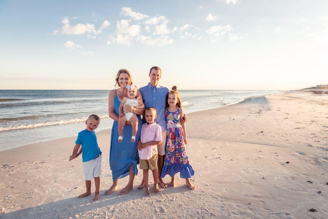 family beach photography in Gulf Shores Alabama