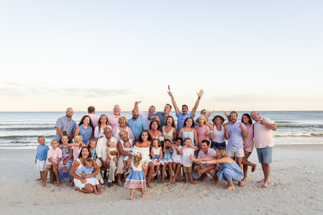 family beach photography in Gulf Shores