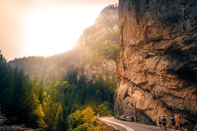 spectacular road trips Romania The Bicaz Canyon