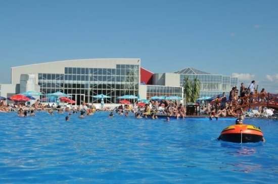 Transylvania with kids in summer aquatic paradise