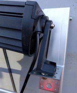 Светодиодная LED-фара установка, крепления под углом