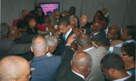 Praying for Obama