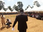 Bursary Application Day at Kibra DC Social Ground.