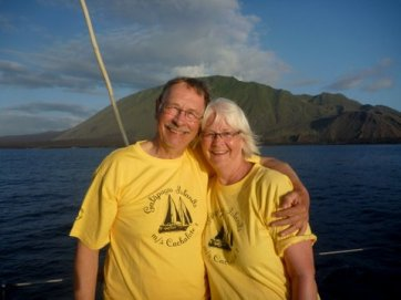 Doug & Suzanne, who were 2 of the nicest people we met on our travels!