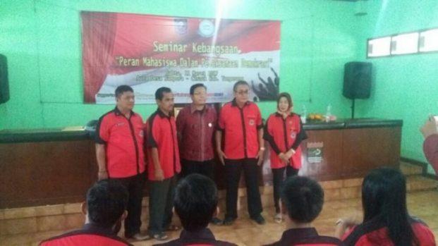 Kawal Nawacita, LSM Azno Team Gelar Seminar Naional