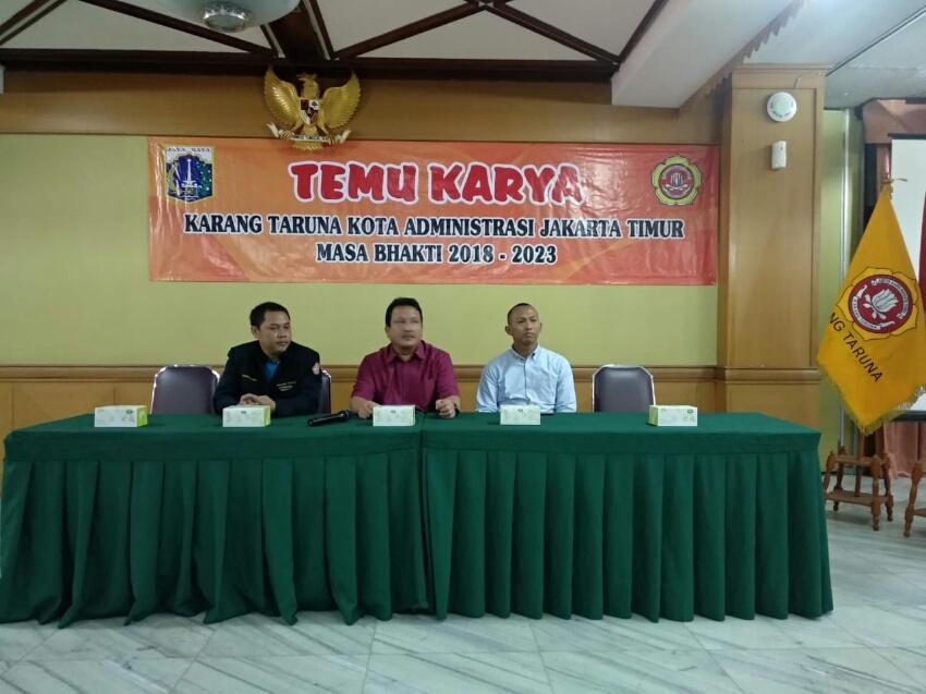Temu Karya Karang Taruna Jakarta Timur Diwarnai Manipulasi Data Sk