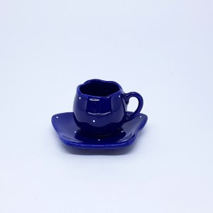 XÍCARA TULIPA DE CAFÉ (DECORADA) 80ml
