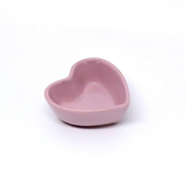 Tigela Coração Mini (lisa) 100ml