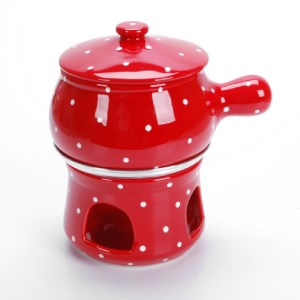 PANELA DE FONDUE GRANDE (DECORADO) 1,250ml