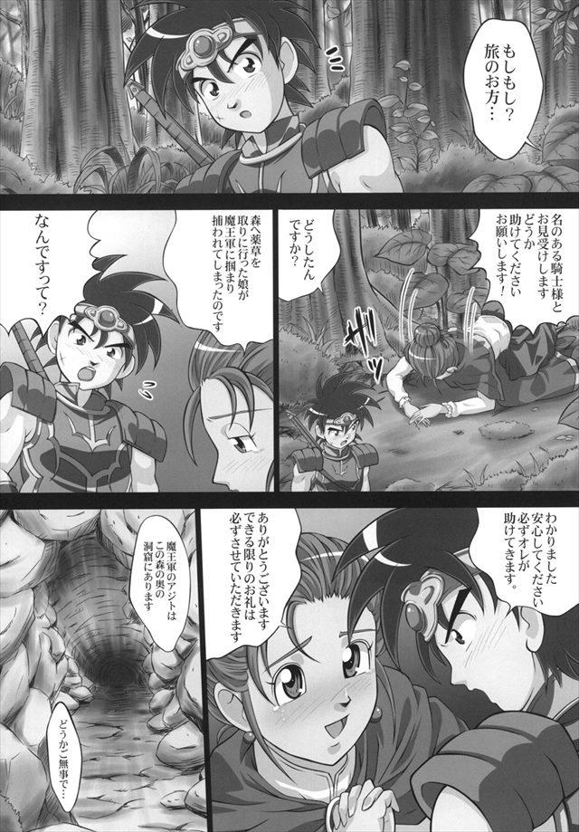 ダイの大冒険 エロマンガ同人誌3