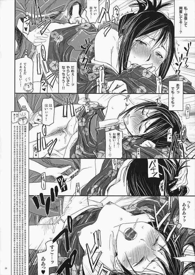 サマーウォーズ エロマンガ・同人誌3025
