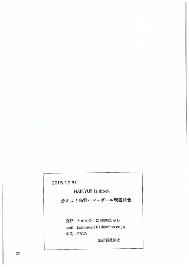 ハイキュー エロマンガ・同人誌6024