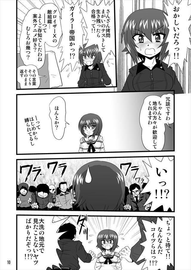 ガルパン エロマンガ・同人誌10010