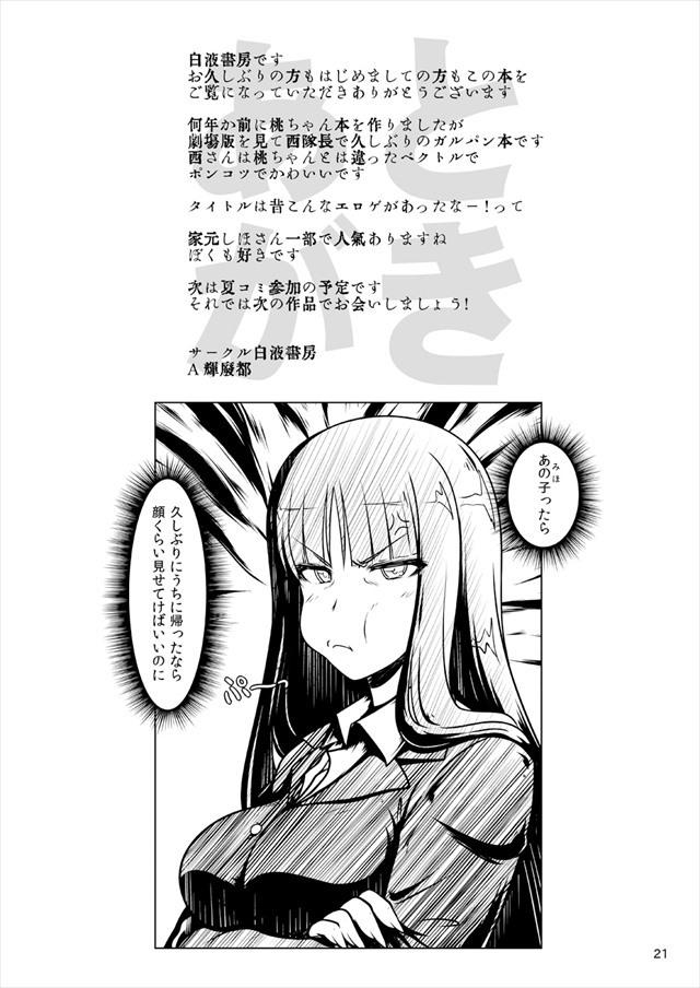 ガルパン エロマンガ・同人誌16020