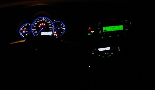 Toyota Yaris XP13 1.5 VVT-i Hybrid Interieur beleuchtet