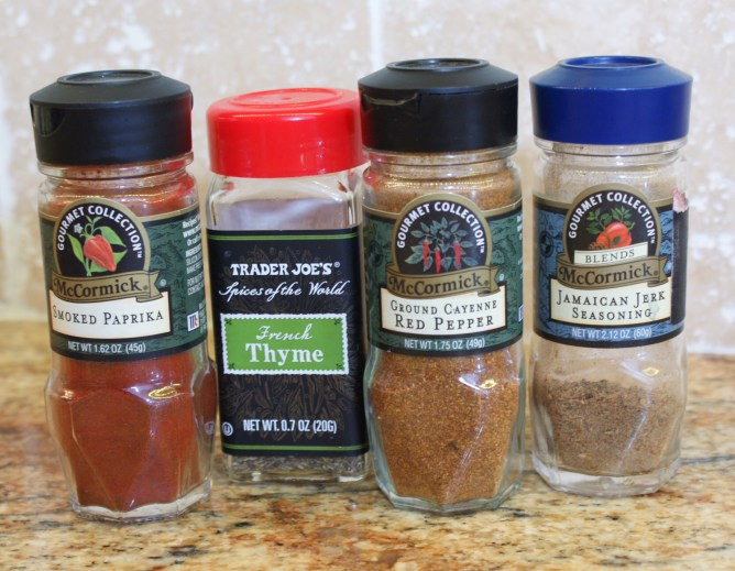 Spices for Shrimp and Sausage