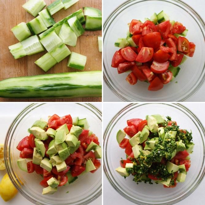 Gremolota Salad