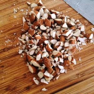 Bacon Brickle Chopped Almonds