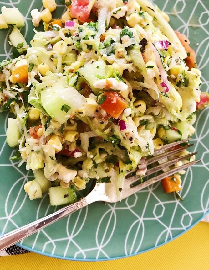 Raw and Ready CHopped Salad