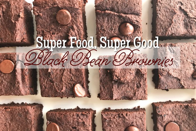 Super Food Super Good Black Bean Brownies