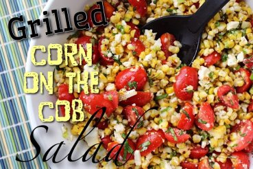 Grilled Corn on the Cob Salad