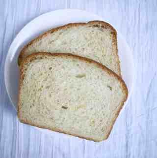 Classic, easy homemade Amish white bread | kickassbaker.com #homemadebread #breadrecipe #Amishwhitebread #kickassbaker