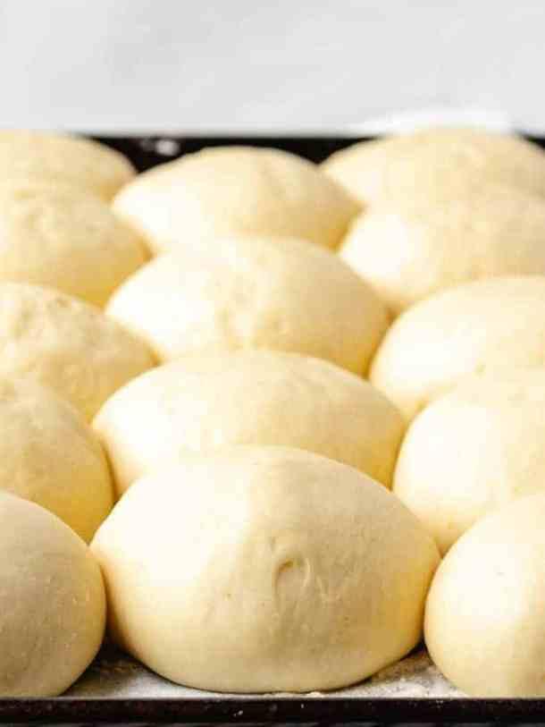 Brioche Doughnuts | kickassbaker.com #brioche #donuts #doughnuts #vanilla #cream #creme #filled #dessert #nutfree #recipes #kickassbaker #fried #breakfast