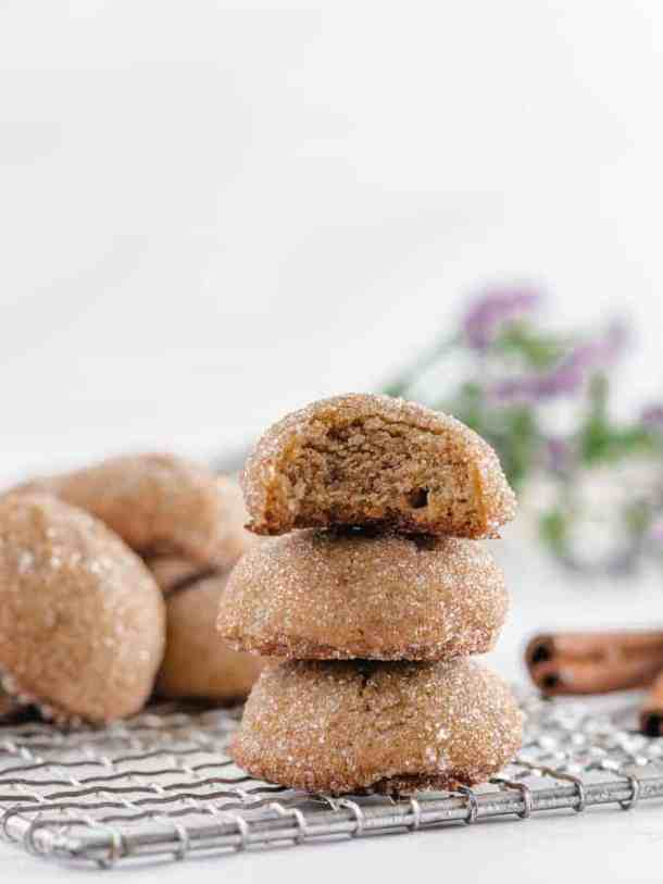 Brown Sugar Cookies | kickassbaker.com #brownsugar #sugarcookies #cinnamon #cardamom #softcookies #sugarcoated #kickassbaker #easyrecipes