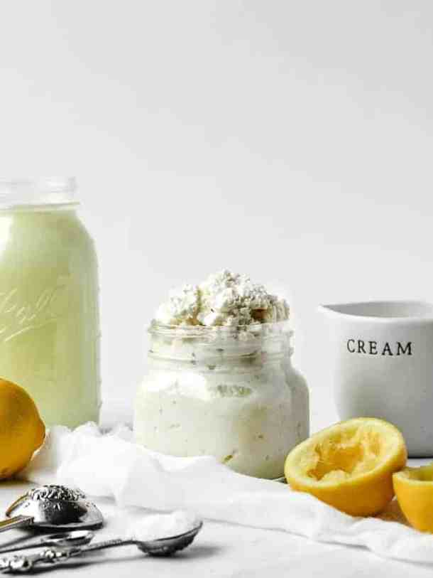 How to Make Homemade Fresh Ricotta in Less Than 30 Minutes   kickassbaker.com #ricotta #ricottacheese #homemade #fromscratch #lessthan30 #under30minutes #kickassbaker
