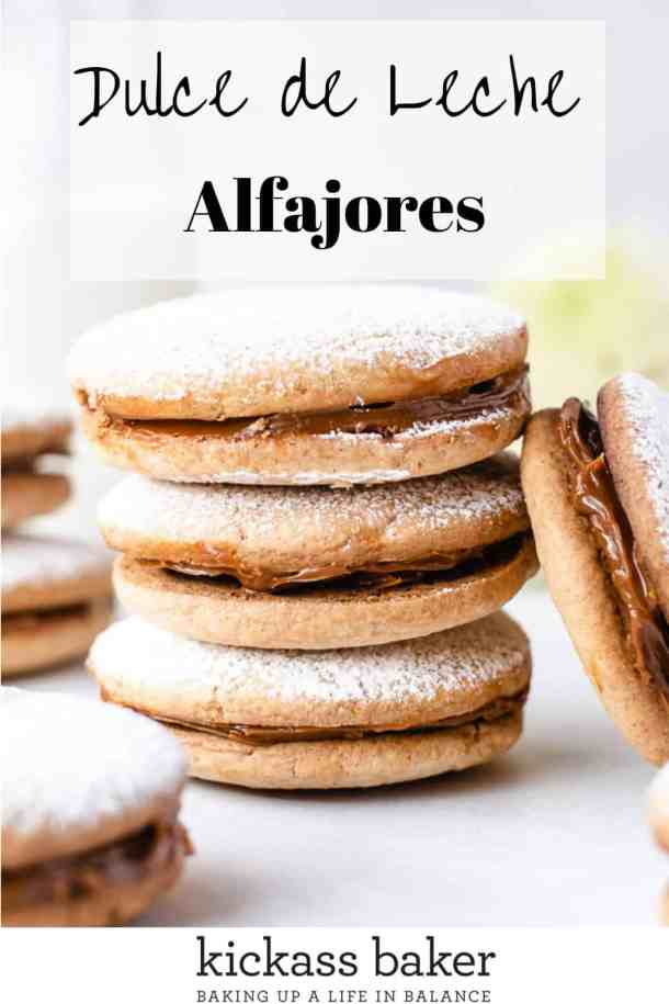 Alfajores | kickassbaker.com pin for Pinterest