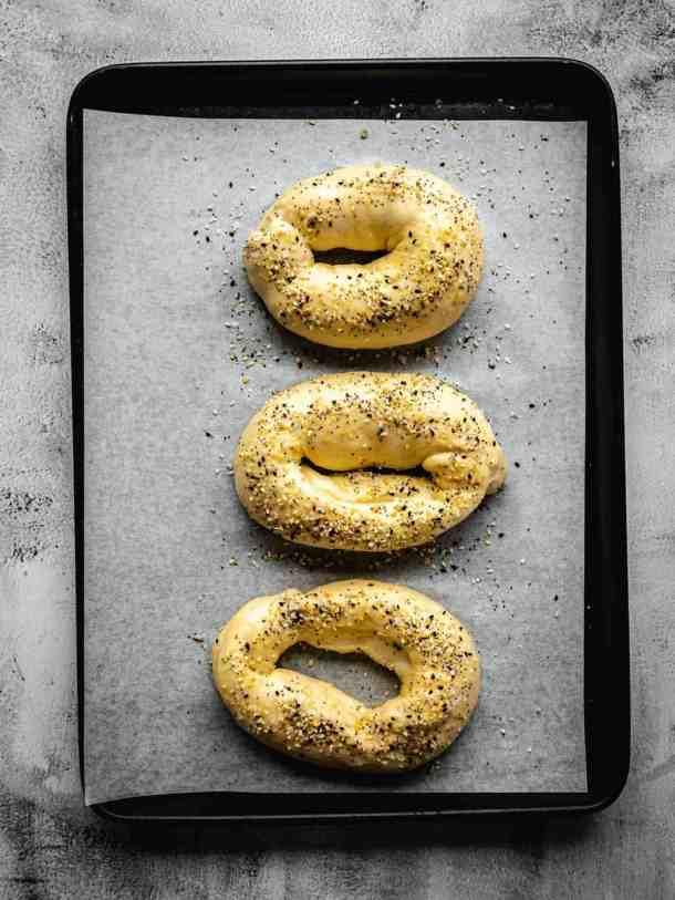 everything bagel Jerusalem Bagels