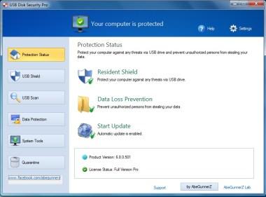 USB Disk Security 6.8 Crack with Serial Keys