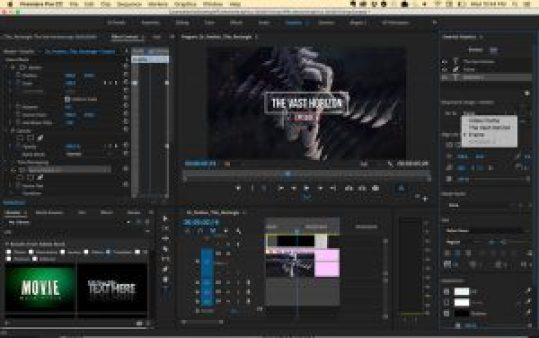 Adobe Premiere Pro CC 2018 Serial keys Free Download