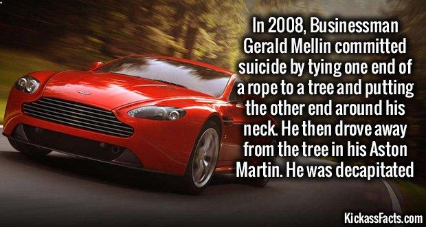 1047 Aston Martin Decapitation
