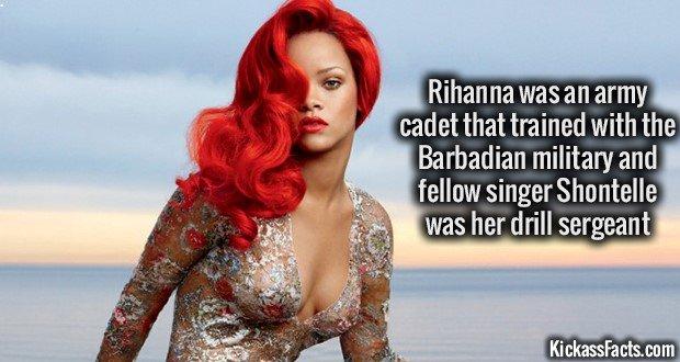 1122 Rihanna Army Cadet